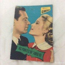 Cine: REVISTA DE CINE ROMANCE. ILUSTRADA - AS PONTES DE TOKO - RI - CON GRACE KELLY, WILLIAM HOLDEN. Lote 180084176