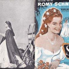 Cine: 6 GUÍAS DE CINE DANESAS DE ROMY SCHNEIDER CON ARGUMENTO Y FOTOS. Lote 180314255