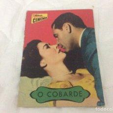 Cine: REVISTA COLECCIÓN DE CINEMA - O COBARDE - CON WILLIAM HOLDEN, VIRGINIA LEITH. Lote 182660330
