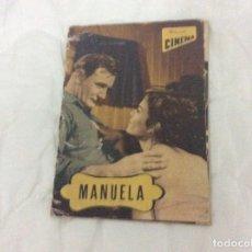 Cine: - MANUELA - CON TREVOR HOWARD, PEDRO ARMENDARIZ. ILUSTRADA.. Lote 182667156