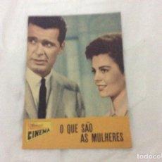 Cine: - O QUE SÃO AS MULHERES - CON JAMES GARNER, NATALIE WOOD. ILUSTRADA. Lote 182675376