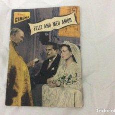 Cine: - FELIZ ANO MEU AMOR - CON MARIA LOPEZ, ARTURO DE CORDOVA. ILUSTRADA.. Lote 182678422