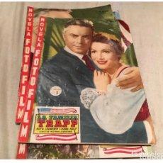 Cine: LA FAMILIA TRAPP - NOVELA FOTOFILM COMPLETA CON LOS 5 FASCÍCULOS. ED. FHER 1958. Lote 183312582
