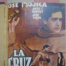 Cine: JOSÉ MÓNICA TRES LIBRETOS DE PELÍCULAS CON ARGUMENTO Y FOTOS ENCUADERNADOS LA ESPADA Y LA CRUZ.... Lote 183777693