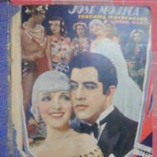 Cine: JOSÉ MOJICA TRES LIBRETOS ENCUADERNADOS CON ARGUMENTÓ Y FOTOS DE LAS PELÍCULAS LA MELODÍA PROHIBIDA. Lote 183778481