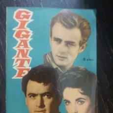 Cine: GIGANTE ( FOTO-FILM DE BOLSILLO ) Nº 11. EDICION MANDOLINA. 1959. Lote 184716018