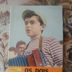 Cine: JOSELITO LIBRETO EDITADO EN PORTUGAL DE LA PELICULA LOS DOS GOLFILLOS CON ARGUMENTO Y FOTOS.. Lote 187162380
