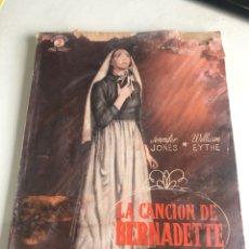 Cine: LA CANCIÓN DE BERNADETTE. Lote 188737368