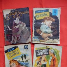 Cine: LOTE 4 NOVELAS POPULAR FILM, RECUERDA, LAS NOCHES DE CABIRIA,LA ADORABLE CONDESA DU BARRY.... Lote 191291952