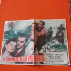 Cine: EL CORREO DE LA MUERTE. Lote 195207692