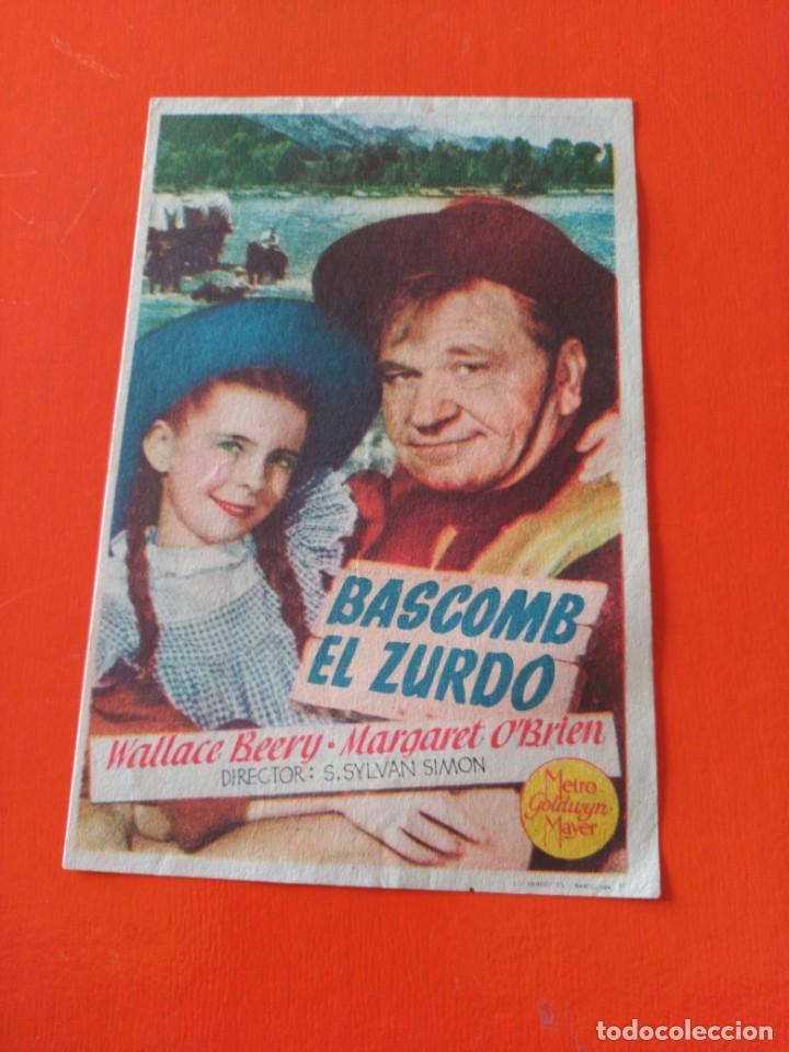BASCOMB EL ZURDO (Cine - Foto-Films y Cine-Novelas)