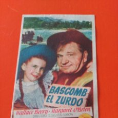 Cine: BASCOMB EL ZURDO. Lote 195208805