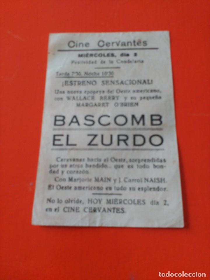 Cine: Bascomb el zurdo - Foto 2 - 195208805