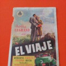 Cine: EL VIAJE. Lote 195210000