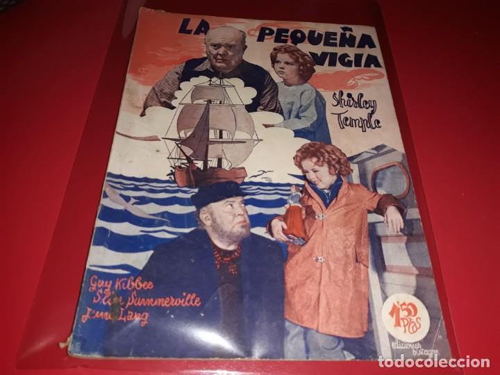 LA PEQUEÑA VIGIA CON SHIRLEY TEMPLE. ARGUMENTO NOVELADO DE PELICULA CON FOTOGRAFIAS.1939 (Cine - Foto-Films y Cine-Novelas)