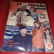 Cine: LA PEQUEÑA VIGIA CON SHIRLEY TEMPLE. ARGUMENTO NOVELADO DE PELICULA CON FOTOGRAFIAS.1939. Lote 197902132