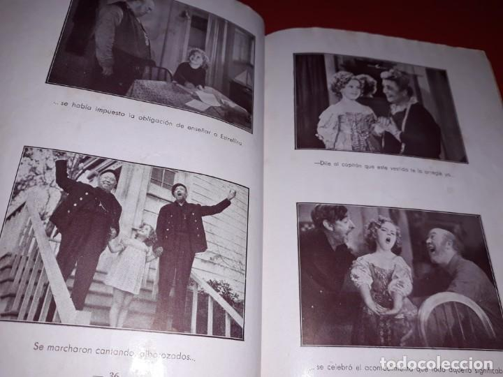 Cine: La Pequeña Vigia con Shirley Temple. Argumento Novelado de Pelicula con Fotografias.1939 - Foto 2 - 197902132