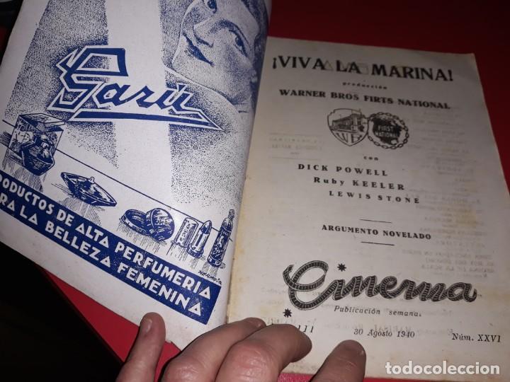Cine: Viva la Marina. Argumento Novelado de Pelicula con Fotografias.1940 - Foto 3 - 197902373