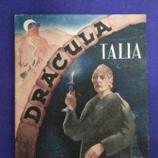 Cinéma: DRÁCULA. AÑO 1944. PRIMERA VERSIÓN ADAPTADA AL TEATRO.. Lote 201599580
