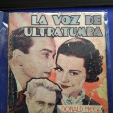 Cine: LA VOZ DE ULTRATUMBA. Lote 201758285