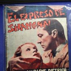 Cine: EL EXPRESO DE SHANGHAI. Lote 201758387
