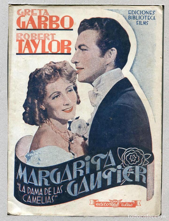 margarita gautier, con greta garbo. novelilla 1 - Comprar Foto-Films y  Cine-Novelas de cine antiguo en todocoleccion - 202375843
