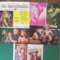 Cine: 3 FOTOCROMOS LAS MARGINADAS 1977- ANALÍA GADÉ,DIANA LORYS, PERFECTO ESTADO. Lote 203011723