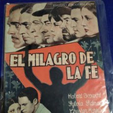 Cine: EL MILAGRO DE LA FÉ. BORIS KARLOFF. Lote 203610946