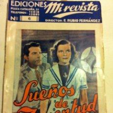 Cine: SUEÑOS DE JUVENTUD- MUY BIEN CONSERVADO. Lote 204690495
