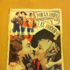 Cine: POR LA DAMA Y EL HONOR. Lote 204691105
