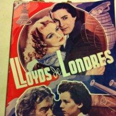 Cine: LLOYDS DE LONDRES - MUY BIEN CONSERVADO. Lote 204691822