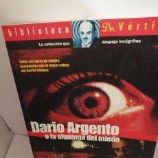 Cine: DARÍO ARGENTO O LA ALQUIMIA DEL MIEDO. Lote 205390685