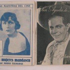 Cine: OBRAS MAESTRAS DEL CINE - LOTE 6 EJEMPLARES - AÑO 1924. Lote 205776088
