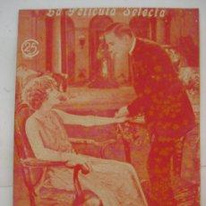 Cine: LA PELICULA SELECTA - LOTE 5 EJEMPLARES - AÑO 1925. Lote 205776836