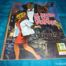 Cinéma: EL MUNDO DE LOS VAMPIROS. Nº 3. CINE-NOVELA. EDITORPRESS, 1968. Lote 205885107