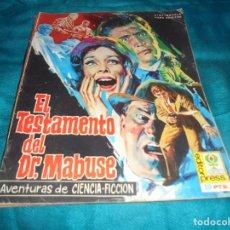 Cinéma: EL TESTAMENTO DEL DR. MABUSE. Nº 4. CINE-NOVELA. EDITORPRESS, 1968. Lote 205885457