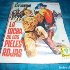 Cinéma: AVENTURAS DE KIT CARSON. LA LUCHA DE LOS PIELES ROJAS. Nº 2. CINE-NOVELA. EDITORPRESS, 1968. Lote 205885566