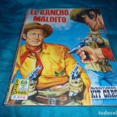Cinéma: AVENTURAS DE KIT CARSON. EL RANCHO MALDITO. Nº 5. CINE-NOVELA. EDITORPRESS, 1968. Lote 205885650