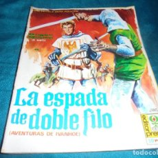 Cinéma: ROGER MOORE. AVENTURAS DE IVANHOE. LA ESPADA DE DOBLE FILO. EDITORPRESS Nº 1. CINE-NOVELA, 1968. Lote 215453697