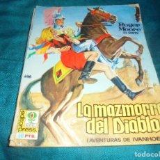 Cine: ROGER MOORE. AVENTURAS DE IVANHOE. LA MAZMORRA DEL DIABLO. EDITORPRESS Nº 2. CINE-NOVELA, 1968. Lote 215453528