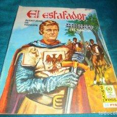 Cine: ROGER MOORE. AVENTURAS DE IVANHOE. EL ESTAFADOR. EDITORPRESS Nº 4. CINE-NOVELA, 1968. Lote 215453575