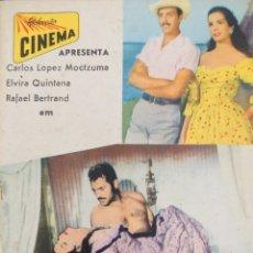Cine: ELVIRA QUINTANA REVISTA PORTUGUESA DE LA PELÍCULA A JANCADA. Lote 206586598