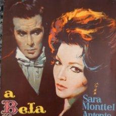 Cine: SARA MONTIEL REVISTA PORTUGUESA DE LA PELÍCULA LA BELLA LOLA. Lote 206587046