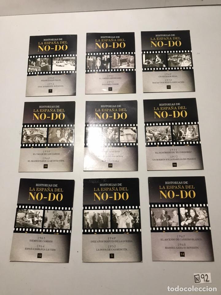 HISTORIAS DE LA ESPAÑA DEL NO-DO (Cine - Foto-Films y Cine-Novelas)