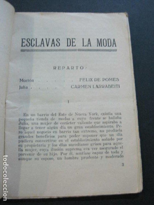Cine: NOVELA DEL CINE MODERNO-ESCLAVAS DE LA MODA-CARMEN LARRABEITI & FELIX DE POMES-VER FOTOS-(V-20.466) - Foto 6 - 207757666