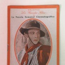 Cinema: RODOLFO VALENTINO EL DIABLO SANTIFICADO. Lote 209589841