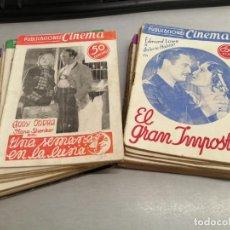 Cine: PUBLICACIONES CINEMA / LOTE CON 20 NÚMEROS / SAN SEBASTIAN. Lote 210180538