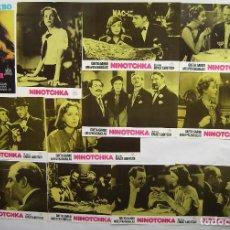 Cinema: NINOTCHKA, CON GRETA GARBO. JUEGO COMPLETO DE 12 FOTOCROMOS. AÑOS 80.. Lote 211635791