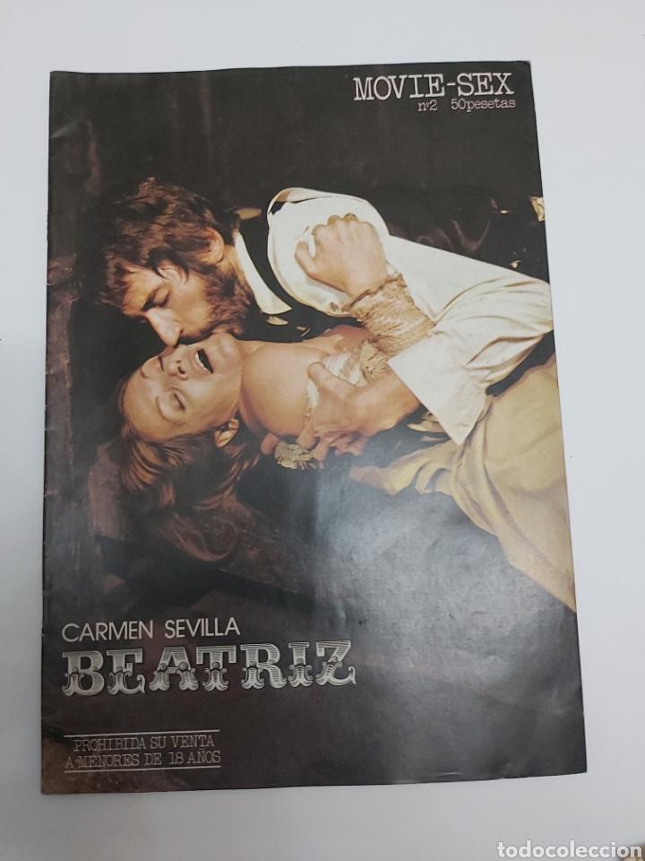 MOVIE SEX N 2 BEATRIZ, CARMEN SEVILLA, JOSÉ SACRISTÁN, SANDRA MOZAROVSKI. REVISTA DE LA PELÍCULA (Cine - Foto-Films y Cine-Novelas)