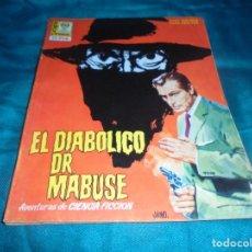 Cinéma: EL DIABOLICO DR. MABUSE. Nº 2. CINE-NOVELA. EDITORPRESS, 1968. Lote 214154055